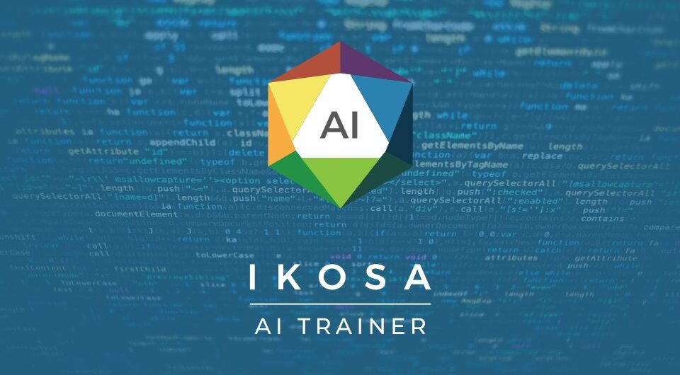 IKOSA AI Trainer, DoItYourself: Deep Learning Applications, specific for your needs